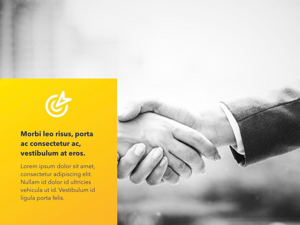 Yellow Concept PowerPoint Template, Slide 13, 06169, Presentation Templates — PoweredTemplate.com