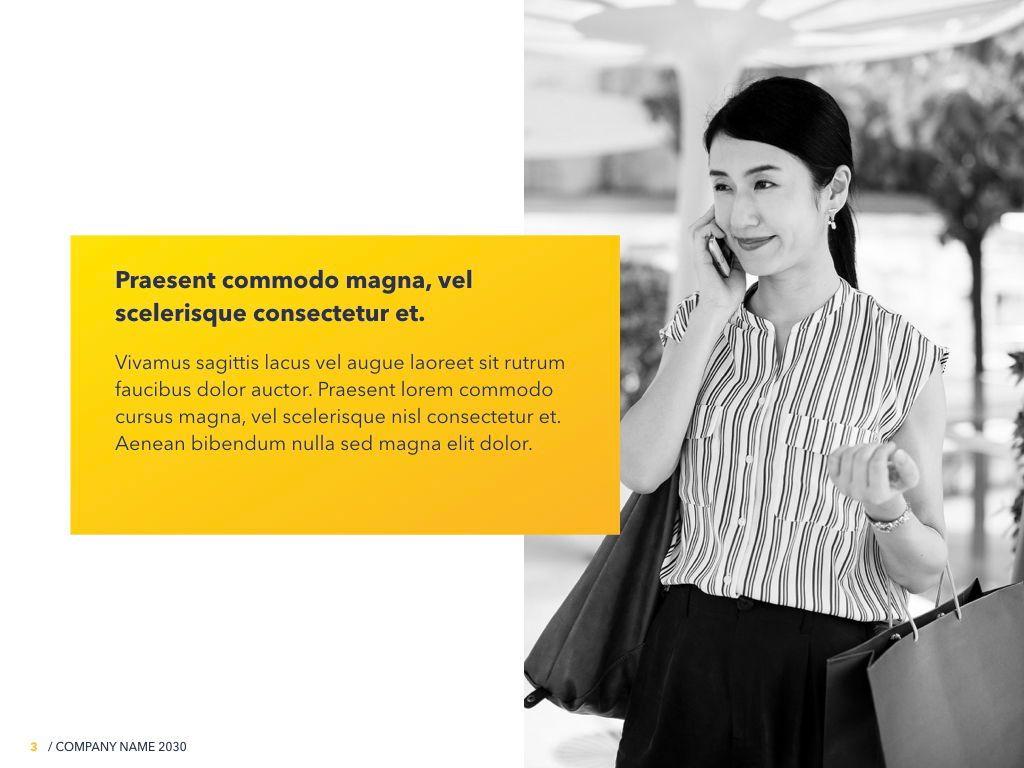 Yellow Concept PowerPoint Template, Slide 4, 06169, Presentation Templates — PoweredTemplate.com