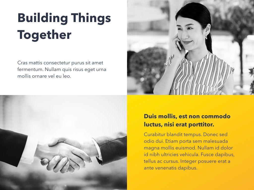 Yellow Concept PowerPoint Template, Slide 8, 06169, Presentation Templates — PoweredTemplate.com