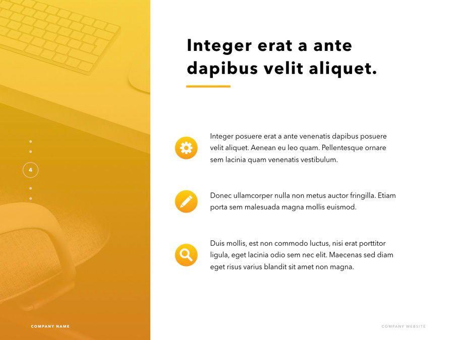 Sunlit PowerPoint Template, Slide 5, 06176, Presentation Templates — PoweredTemplate.com