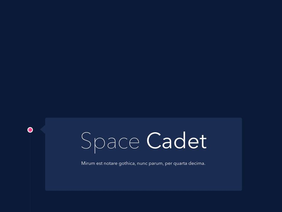 Space Cadet Keynote Template, Slide 2, 06177, Presentation Templates — PoweredTemplate.com