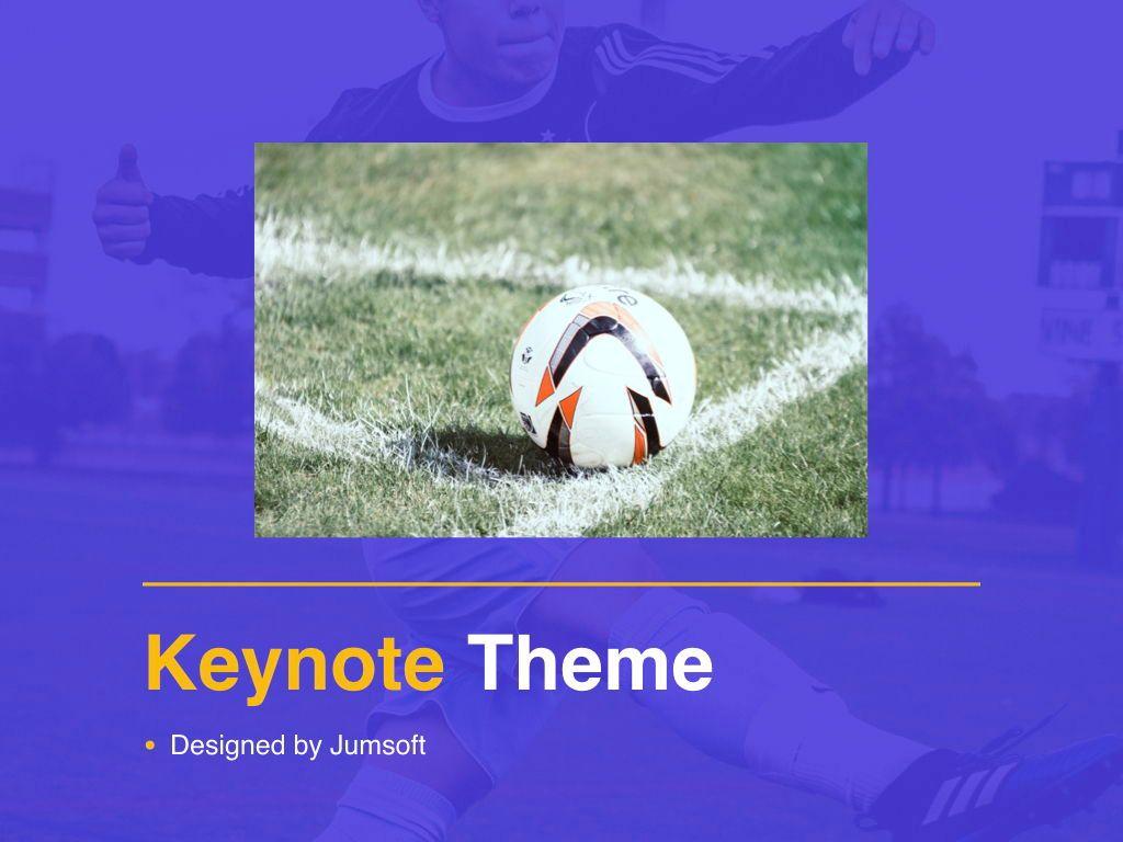 Soccer Keynote Template, Slide 13, 06181, Presentation Templates — PoweredTemplate.com