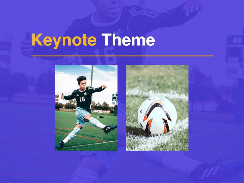 Soccer Keynote Template, Slide 16, 06181, Presentation Templates — PoweredTemplate.com