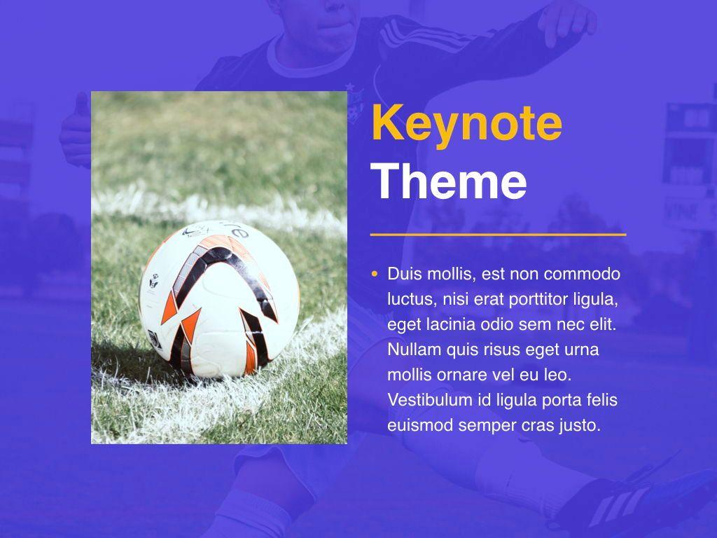 Soccer Keynote Template, Slide 18, 06181, Presentation Templates — PoweredTemplate.com