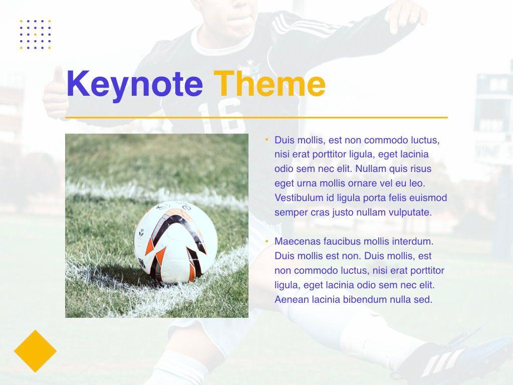 Soccer Keynote Template, Slide 31, 06181, Presentation Templates — PoweredTemplate.com