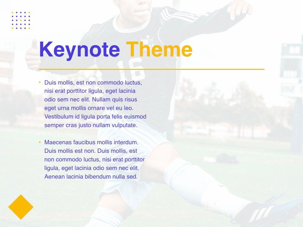 Soccer Keynote Template, Slide 32, 06181, Presentation Templates — PoweredTemplate.com