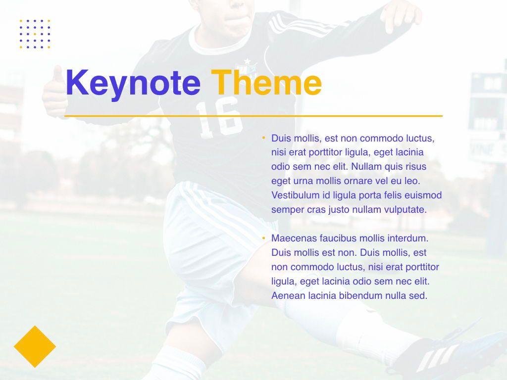 Soccer Keynote Template, Slide 33, 06181, Presentation Templates — PoweredTemplate.com