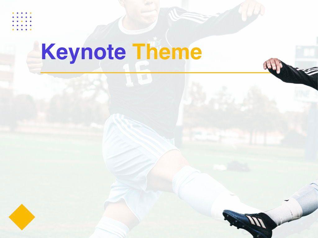 Soccer Keynote Template, Slide 8, 06181, Presentation Templates — PoweredTemplate.com