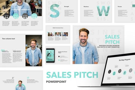Presentation Templates: Sales Pitch PowerPoint Template #06183