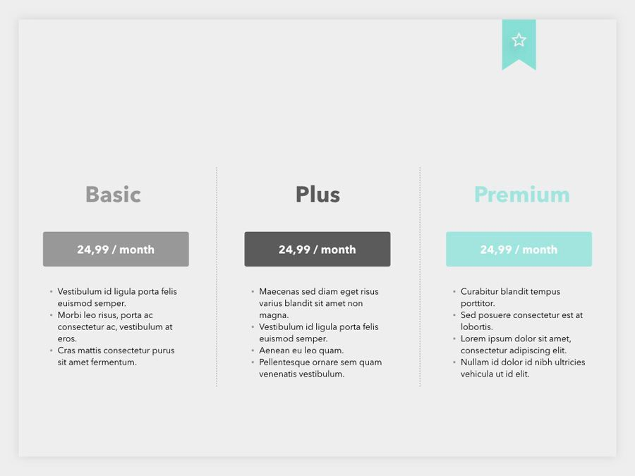 Sales Pitch PowerPoint Template, Slide 13, 06183, Presentation Templates — PoweredTemplate.com