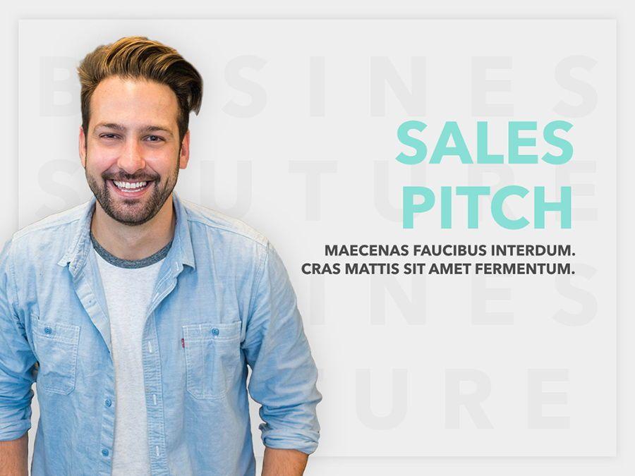 Sales Pitch PowerPoint Template, Slide 2, 06183, Presentation Templates — PoweredTemplate.com