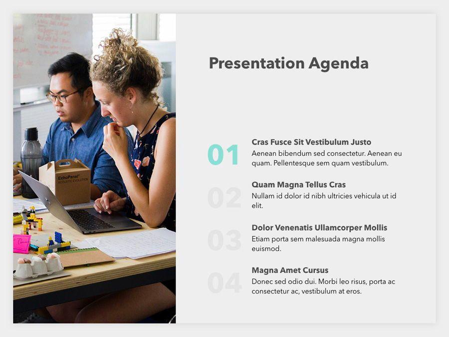 Sales Pitch PowerPoint Template, Slide 3, 06183, Presentation Templates — PoweredTemplate.com