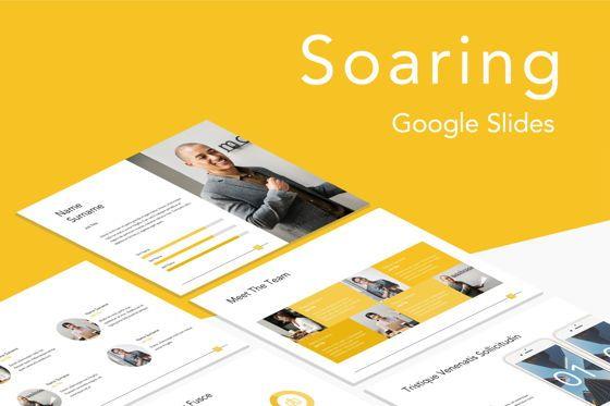 Presentation Templates: Soaring Google Slides Template #06185