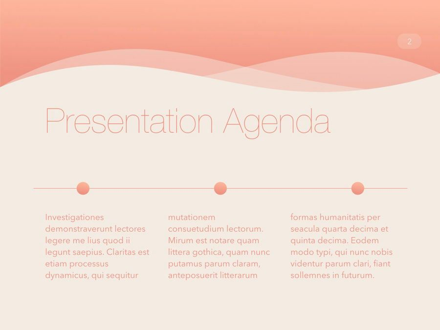 Sunrise City Keynote Template, Slide 3, 06187, Presentation Templates — PoweredTemplate.com