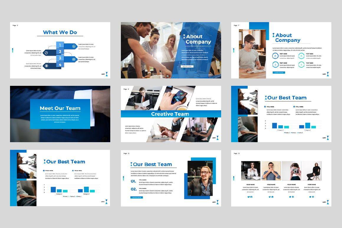 Lexy Business Google Slide, Slide 2, 06190, Presentation Templates — PoweredTemplate.com