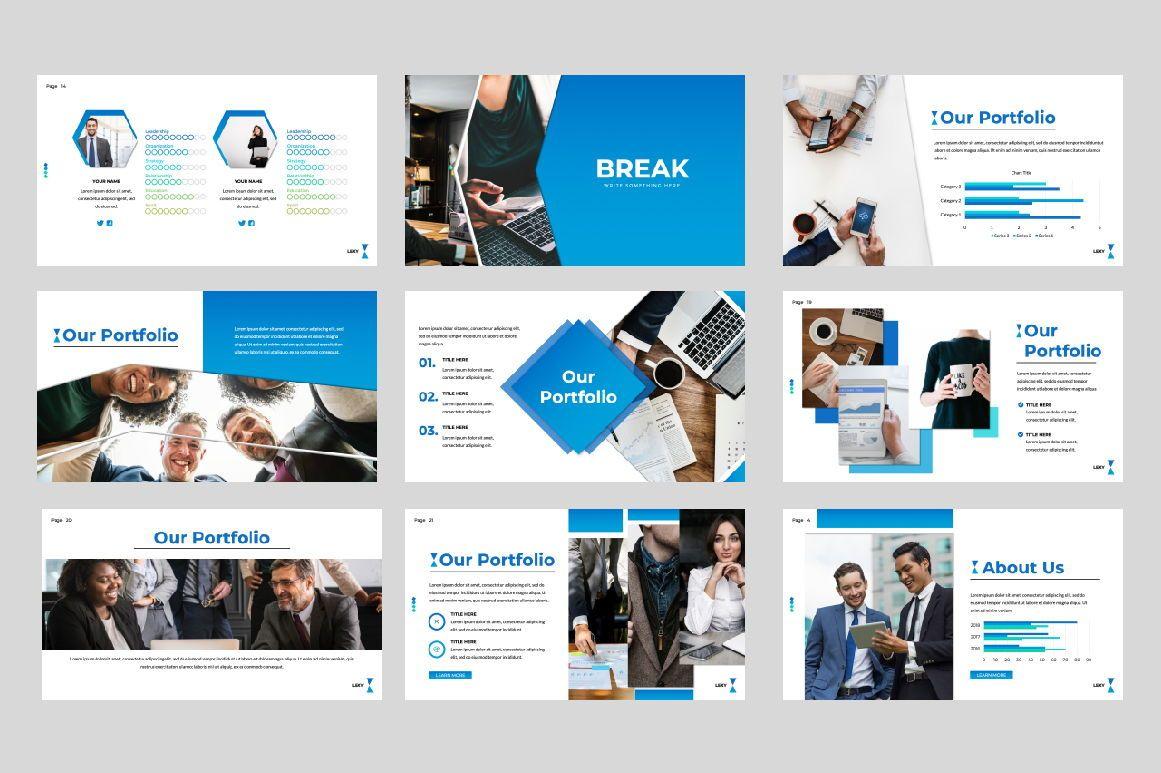 Lexy Business Google Slide, Slide 3, 06190, Presentation Templates — PoweredTemplate.com