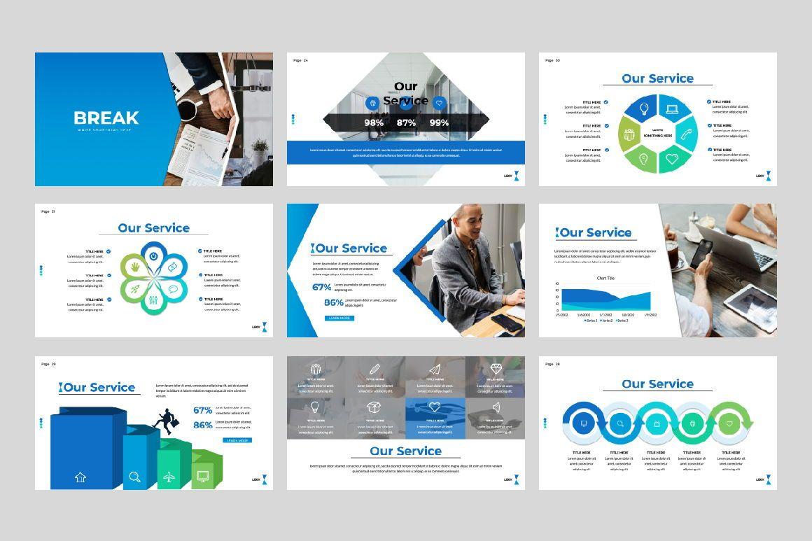 Lexy Business Google Slide, Slide 5, 06190, Presentation Templates — PoweredTemplate.com