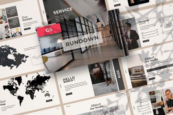 Presentation Templates: Rundown Business Google Slide #06196