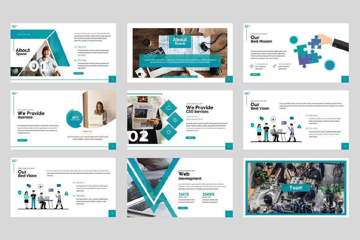 Space Business Keynote, Slide 3, 06198, Presentation Templates — PoweredTemplate.com