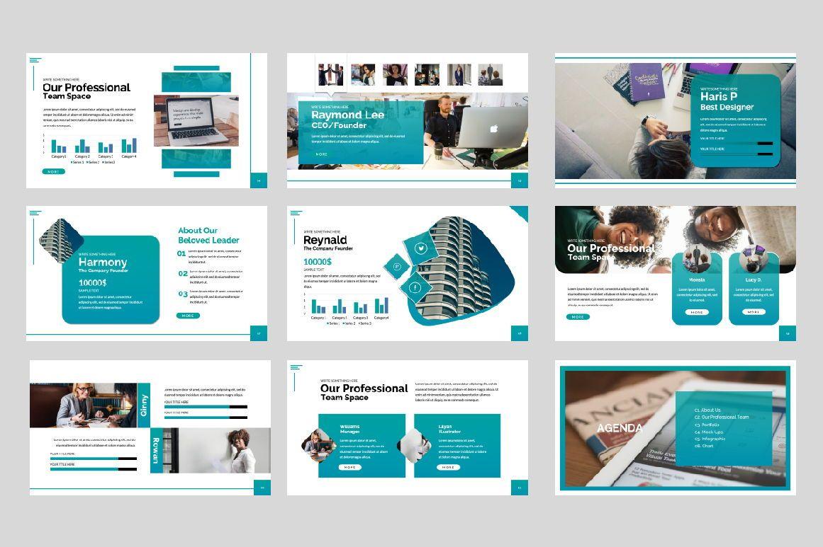 Space Business Google Slide, Slide 2, 06199, Presentation Templates — PoweredTemplate.com