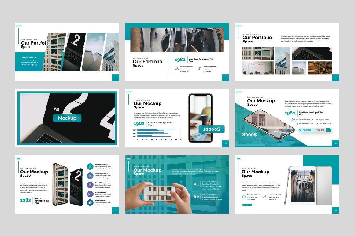 Space Business Google Slide, Slide 6, 06199, Presentation Templates — PoweredTemplate.com