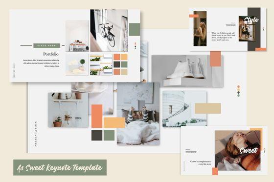 Presentation Templates: Sweet Business Keynote #06201