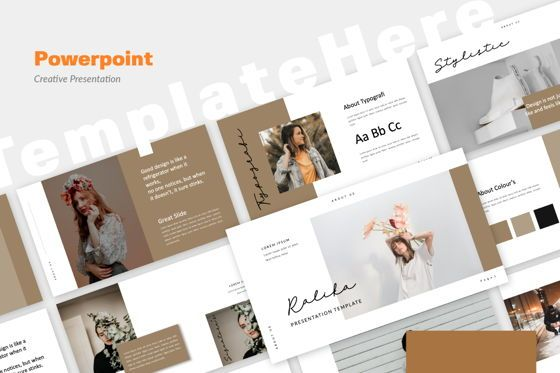 Presentation Templates: Ralika Creative Powerpoint #06207