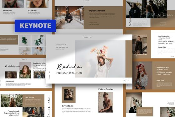 Presentation Templates: Ralika Creative Keynote #06208