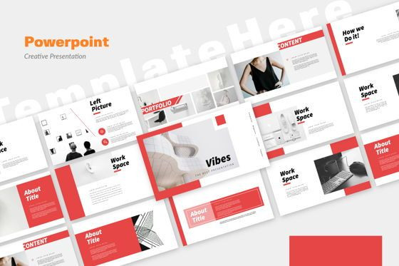 Presentation Templates: Vibes Creative Powerpoint #06210