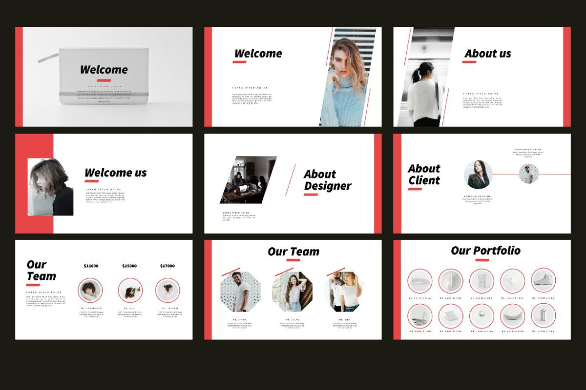 Vibes Creative Keynote, Slide 3, 06211, Presentation Templates — PoweredTemplate.com