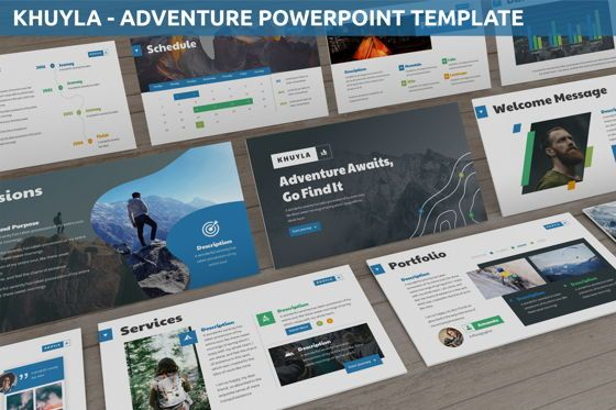 Business Models: Khuyla - Adventure Powerpoint Template #06213