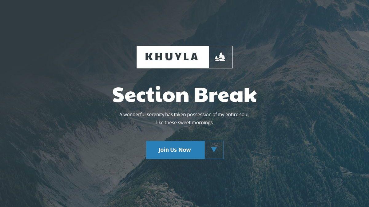 Khuyla - Adventure Powerpoint Template, Slide 10, 06213, Business Models — PoweredTemplate.com