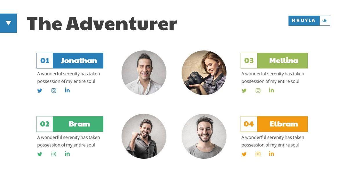Khuyla - Adventure Powerpoint Template, Slide 13, 06213, Business Models — PoweredTemplate.com