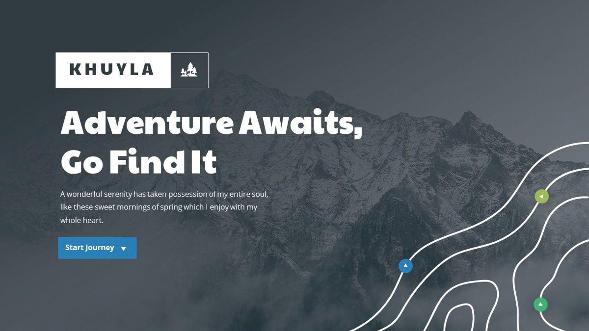 Khuyla - Adventure Powerpoint Template, Slide 2, 06213, Business Models — PoweredTemplate.com