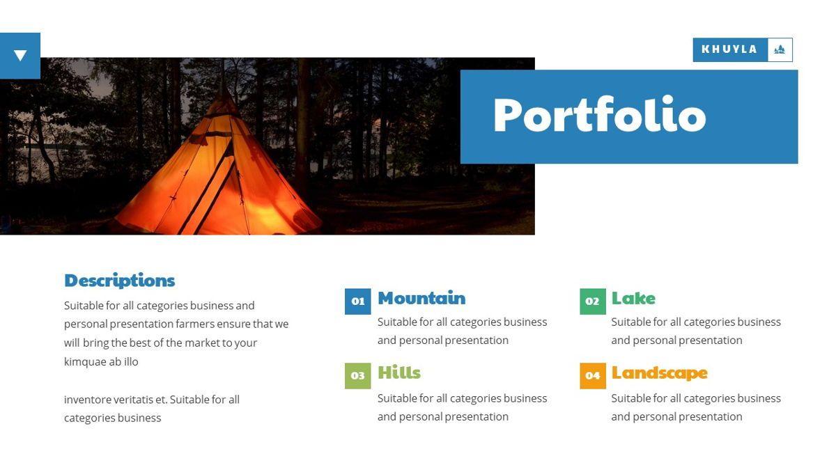 Khuyla - Adventure Powerpoint Template, Slide 20, 06213, Business Models — PoweredTemplate.com