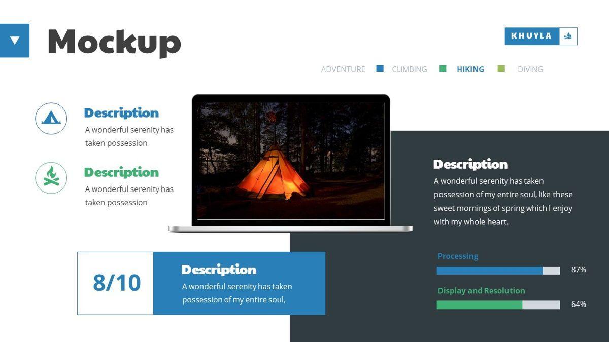 Khuyla - Adventure Powerpoint Template, Slide 23, 06213, Business Models — PoweredTemplate.com