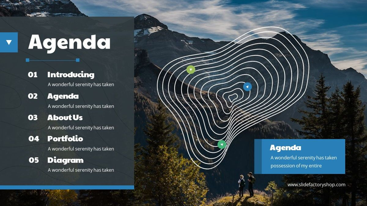 Khuyla - Adventure Powerpoint Template, Slide 3, 06213, Business Models — PoweredTemplate.com
