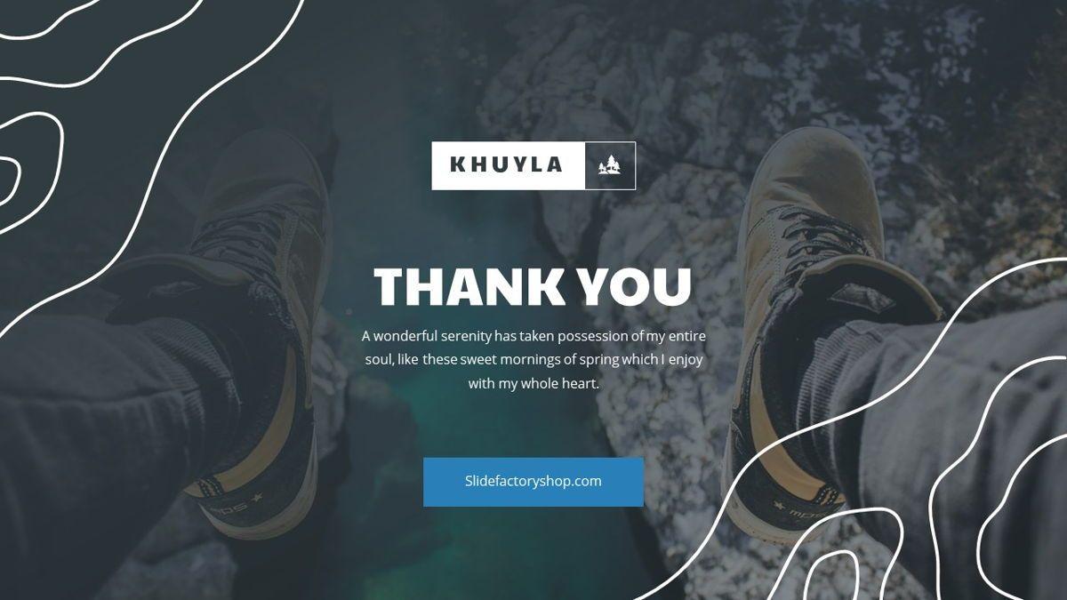 Khuyla - Adventure Powerpoint Template, Slide 31, 06213, Business Models — PoweredTemplate.com