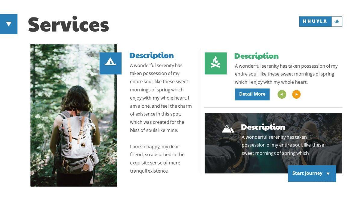 Khuyla - Adventure Powerpoint Template, Slide 6, 06213, Business Models — PoweredTemplate.com