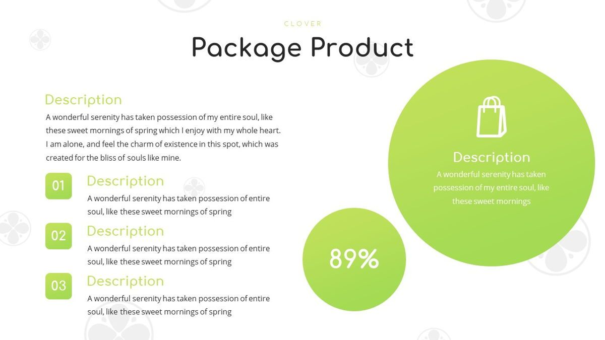 Clover - Creative Powerpoint Template, Slide 15, 06222, Business Models — PoweredTemplate.com