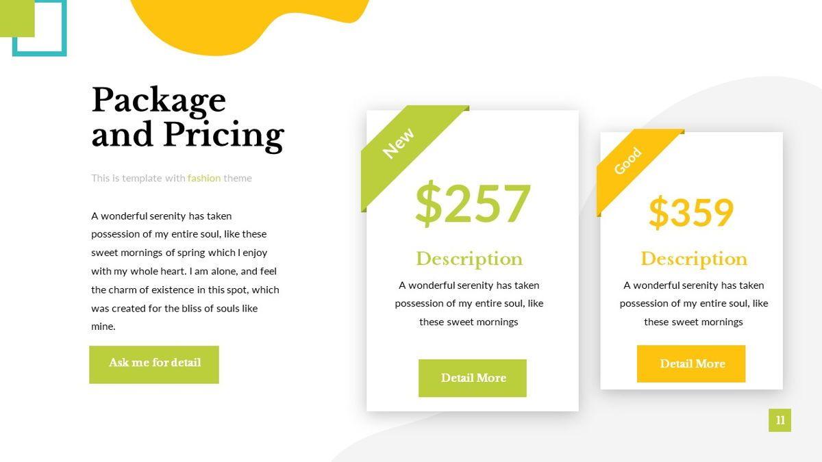 Eraka - Abstract Powerpoint Template, Slide 12, 06224, Business Models — PoweredTemplate.com