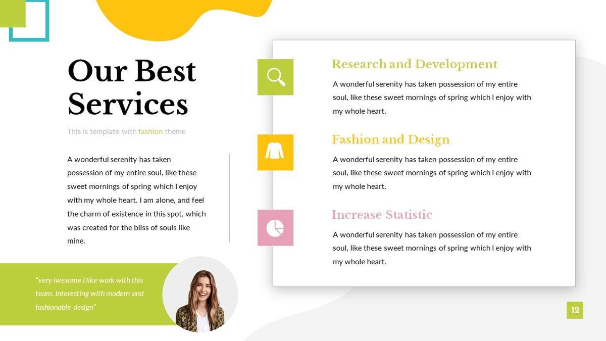 Eraka - Abstract Powerpoint Template, Slide 13, 06224, Business Models — PoweredTemplate.com