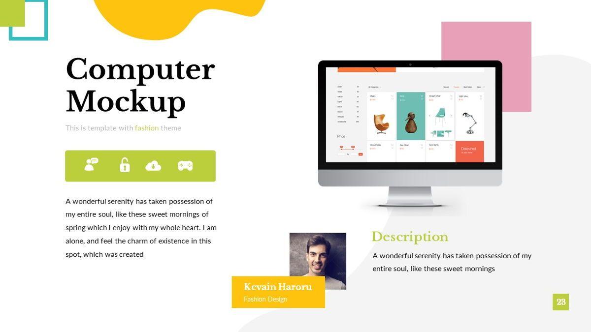 Eraka - Abstract Powerpoint Template, Slide 24, 06224, Business Models — PoweredTemplate.com