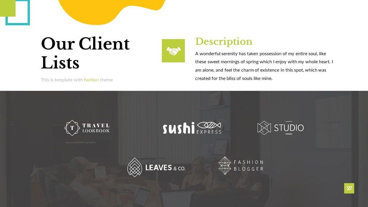 Eraka - Abstract Powerpoint Template, Slide 28, 06224, Business Models — PoweredTemplate.com