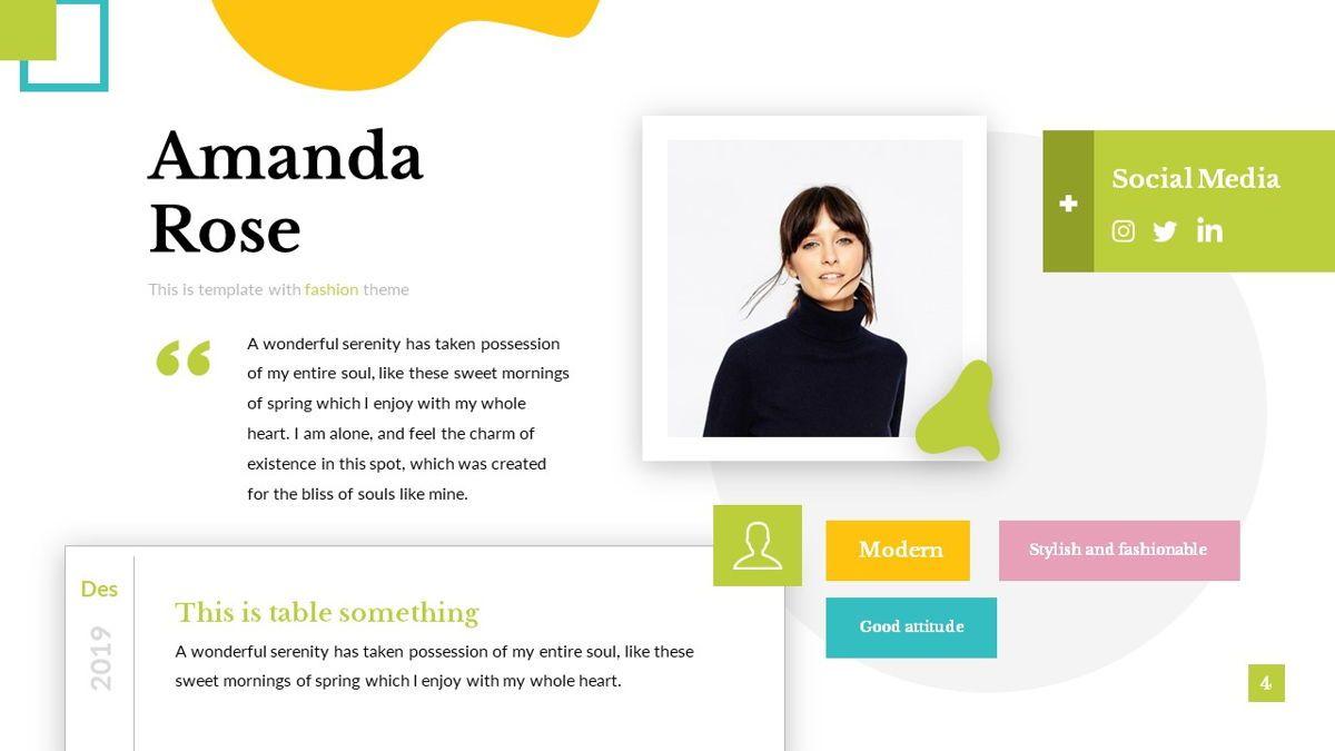 Eraka - Abstract Powerpoint Template, Slide 5, 06224, Business Models — PoweredTemplate.com