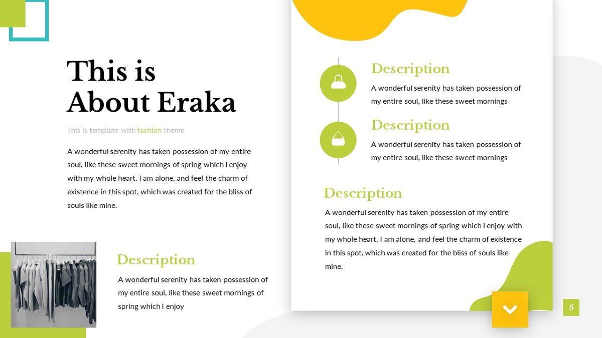 Eraka - Abstract Powerpoint Template, Slide 6, 06224, Business Models — PoweredTemplate.com