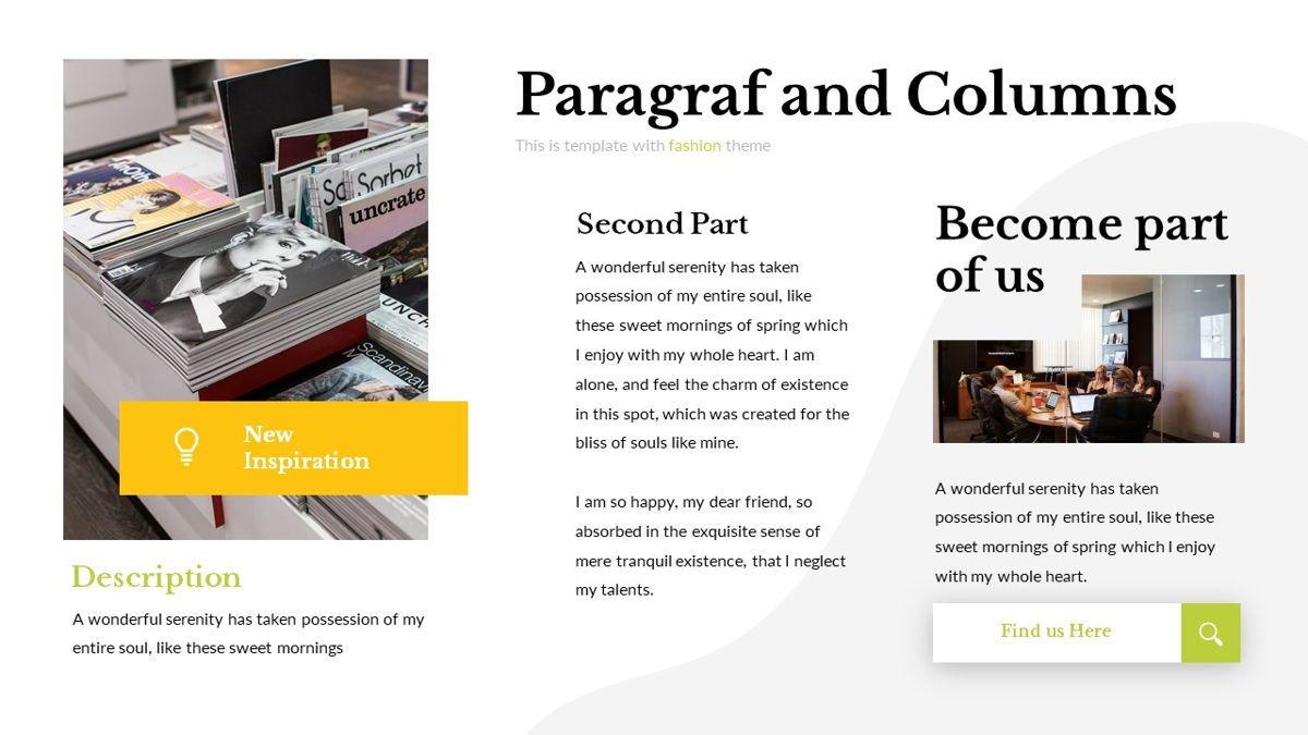 Eraka - Abstract Powerpoint Template, Slide 7, 06224, Business Models — PoweredTemplate.com