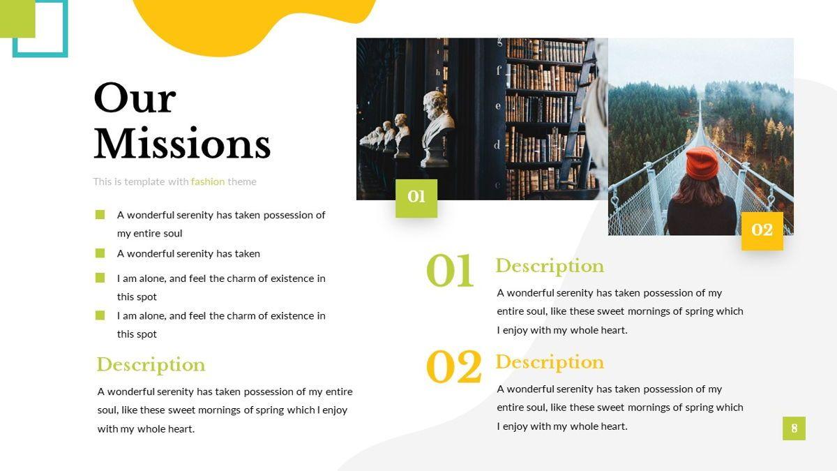 Eraka - Abstract Powerpoint Template, Slide 9, 06224, Business Models — PoweredTemplate.com