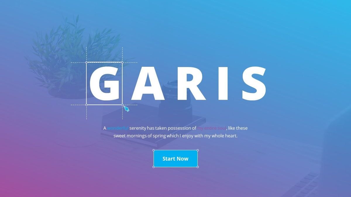 Garis - Graphic Design Powerpoint Template, Slide 2, 06225, Data Driven Diagrams and Charts — PoweredTemplate.com