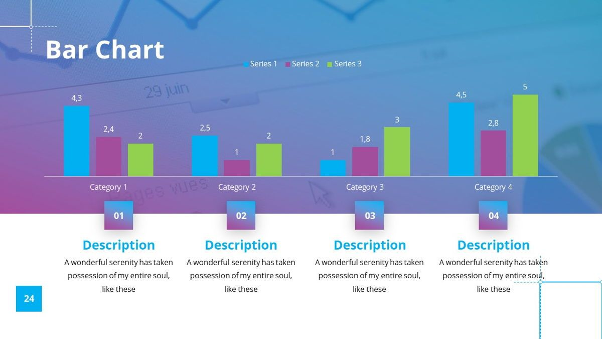 Garis - Graphic Design Powerpoint Template, Slide 25, 06225, Data Driven Diagrams and Charts — PoweredTemplate.com